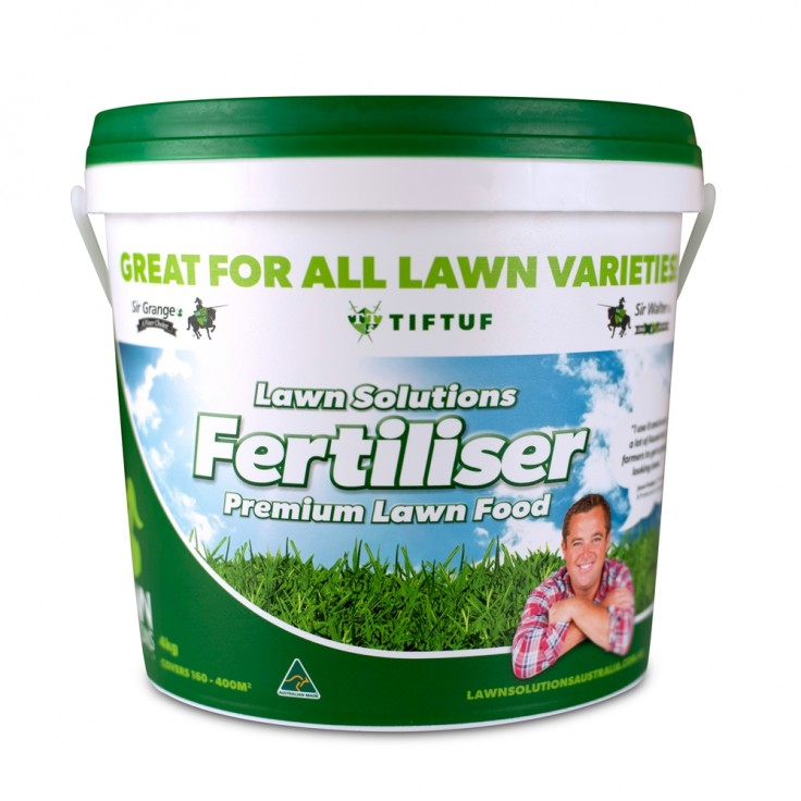 Lawn Solutions Premium Lawn Fertiliser 4kg
