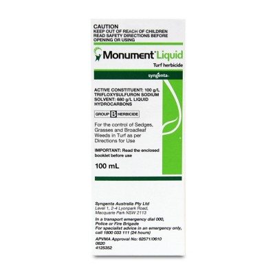 Monument Liquid Turf Herbicide