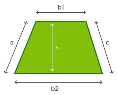 How to lay turf - measuring trapezoids