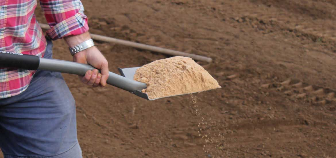 Soil Preparation for laying lawn