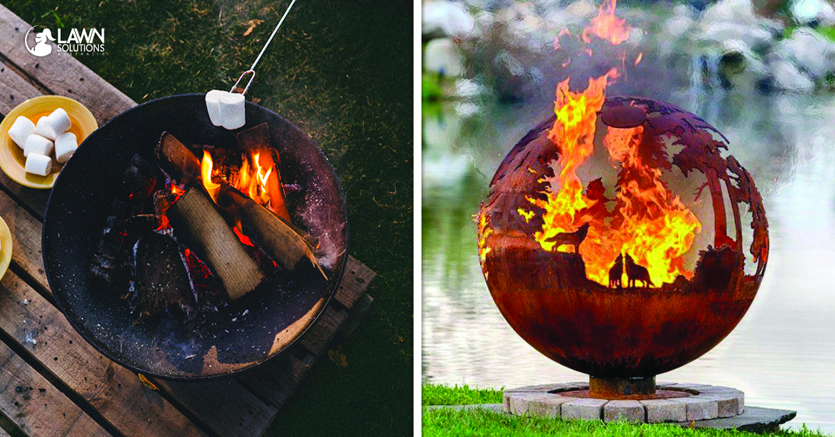 Using Fire Pits How To Protect Your Lawn Lawn Solutions Australia
