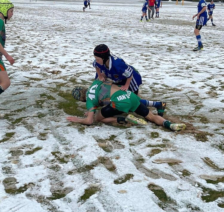 tiftuf footy in the snow